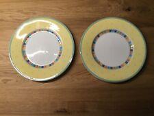 Villeroy & Boch Twist Alea Limone 4 Stück Frühstücks- / Kuchenteller 21 cm