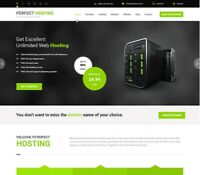 WEBSITE HOSTING AFFILIATE WEBSITE FOR SALE. USE FOR RESELLER OR AFFILIATE INCOME