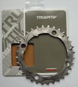SRAM - Plateau / Truvativ 32T V7 104 Aluminium Gris/Aluminium Grey Boîtes