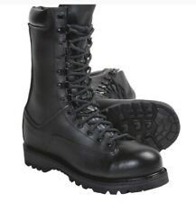 800T Deluxe Matterhorn Military Combat Boots Black Mens 10 Wide New in Box USA