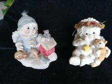 2 Dreamsicles Love My Kitty Figurine Christmas