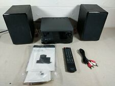 Insignia - 50W Bluetooth Cd Compact Disc Shelf System - Black - Ns-Sh513