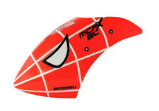 Microheli Blade Mcpx Brushless Airbrush Fiberglass Spider Man Canopy mCP X BLq