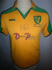 Norwich City Home Shirt Signed by Adam Drury with our COA