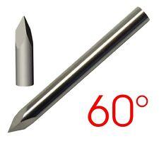 60° Ø 6mm pyramidenförmiger VHM Gravierstichel für Graviermaschine Schaftfräser
