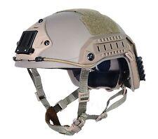 Military Tactical Airsoft Paintball FMA maritime Helmet ABS DE T815 M/L