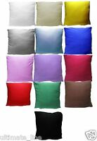 "4x Cushion Covers 40cm x 40cm - 16"" x 16"" 100% Jersey Cotton with Zip Decor Home"