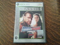 jeu xbox 360 classics smackdown vs raw 2009 featuring ecw