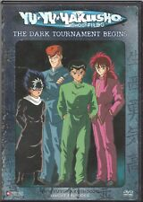 Movie DVD - YU YU HAKUSHO THE DARK TOURNAMENT BEGINS - Pre-Owned - Funimation
