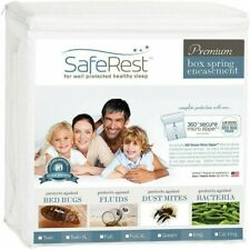 SafeRest Premium Box Spring Encasement-Lab Tested Bed Bug Proof, Dust Mite King