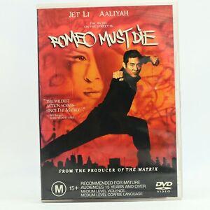Romeo Must Die Kung Fu Martial Arts Chinese Jet Li DVD GC