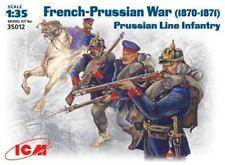 ICM 1/35 Prussian Line Infantry (1870-1871) Franco-Prussian War # 35012