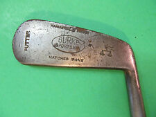 "35"" Burke Sportsman Putter. Hickory Shaft"