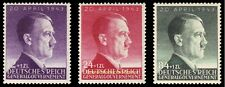 EBS Generalgouvernement 1943 Hitler's 54th Birthday set Michel 101-103 MNH**