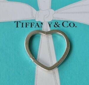 Authentic Tiffany & Co Heart Shaped Keyring