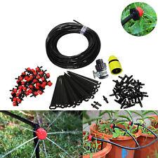 25m DIY Micro Drip Irrigation System Self DIY Home Garden Watering Kits