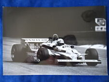 PHOTO - GRAND PRIX MONZA - RENAULT F1 A. PROST 1981 - H. STREBELLE SYGMA - TOP !