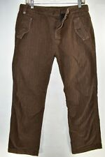 Diesel Military Trouser Pants Button Fly Jeans Mens Size 29 Brown Meas 31x31.5