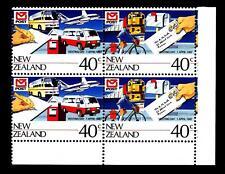 NEW ZEALAND - NUOVA ZELANDA - 1987 - Giornata della Posta in coppia