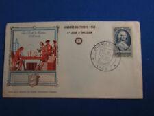 enveloppe premier jour 1953 journee du timbre la poste de france