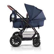 KinderKraft Moov Multi Kinderwagen Kombikinderwagen 3in1 DUNKELBLAU #796