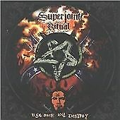 Superjoint Ritual : Use Once and Destroy CD Incredible Value and Free Shipping!