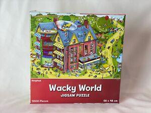 Wacky World - Hospital 1000 Piece Jigsaw Puzzle 68cm x 48cm