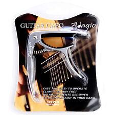 ADAGIO CAPO For Acoustic, electric and classical guitars, banjo SILV