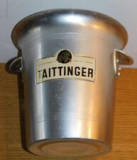 vintage SEAU à bouteille de CHAMPAGNE TAITTINGER thibaut IV ice bucket EIMER