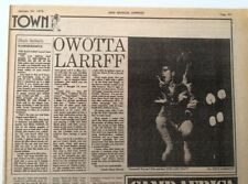 BLACK SABBATH 'Hammersmith Odeon' 1976 concert review ARTICLE / clipping