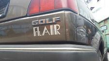 VW GOLF 2 FLAIR KIWIBRAUN 2.HAND 61500 km ORIGINAL UNVERBASTELT