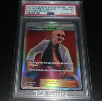 PSA 10 GEM MINT Blaine's Last Stand 69/70 SM Dragon Majesty FA Pokemon Card