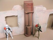 Star Wars Award Winning Custom Cast Space Wall Panel Diorama Parts Free Shipping