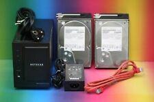 Netgear ReadyNAS Duo RND2000 NAS Server Multimedia Video und 2x 1TB Festplatte
