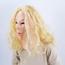 Female Latex Mask Fancy Dress Halloween Costume Masker Living Dolls Crossdresser