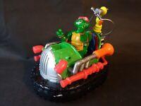 Teenage Mutant Ninja Turtles 1991 Bumper Car Turtleyear Used Rare With Figure