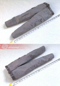 """1/6th Male Grey Tactical Pants & Belt Model Toy Fit 12""""Figure Body Doll"""