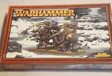 GW Warhammer Ogre Kingdoms Gnoblar Scraplauncher 95-16 - METAL OOP SEALED BOX