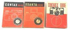 Exakta, Contax & Contarex Guides