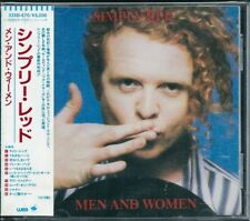 Simply Red Men and Women Japan CD w/obi 32XD-670