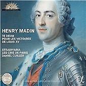 Henry Madin: Te Deum pour les Victoires de Louis XV, Les Cris de Paris, Stradiva