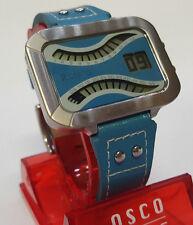 Rosato Damen-Armbanduhr Matrix XII Wave blau-türkis Digital Quarz R687