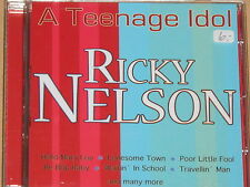 RICKY NELSON -A Teenage Idol- CD