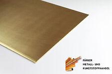 Messing Blech 1,5 mm 200x100mm CuZn37 MS63 Messingblech
