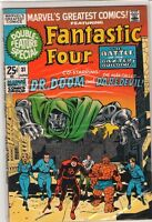 MARVEL's Greatest Comics #31 Fantastic Four Dr Doom Daredevil 9.0