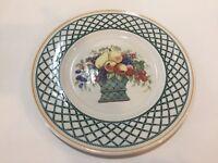 "Villeroy & Boch House & Garden Collection ""Basket"" Salad Plate, 8 1/3"" Diameter"