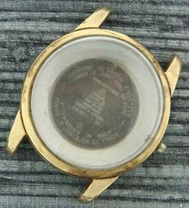Vintage 2846-1 SC Omega Seamaster Men's Wristwatch Case Stainless & Gold Filled