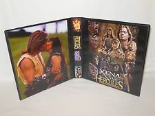Custom Made Hercules Xena Trading Card Album Binder