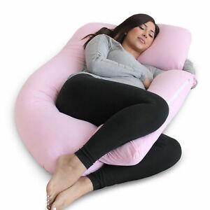 PharMeDoc U-Shape Full Body Pregnancy Pillow