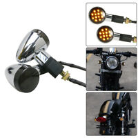 Bullet Turn Signals Indicator For Yamaha Virago XV 250 500 535 700 750 920 1100